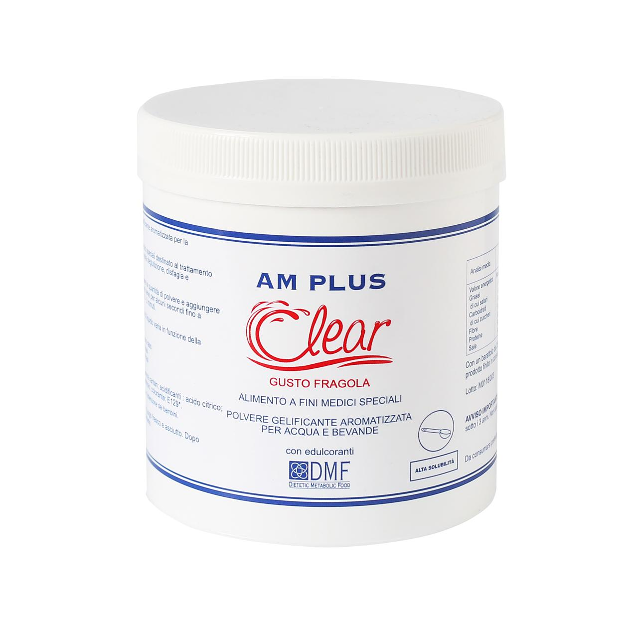 AM Clear Fragola 250g edulcorato