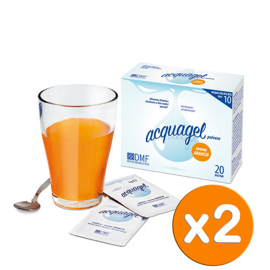 Acquagel Arancia 40bs x 5g