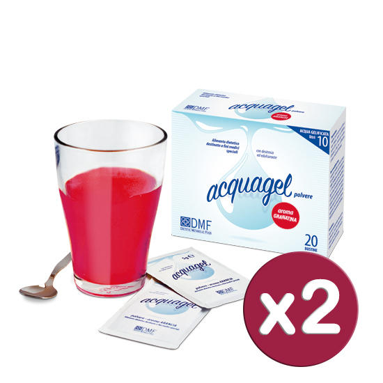 Acquagel Granatina 40bs x 5g