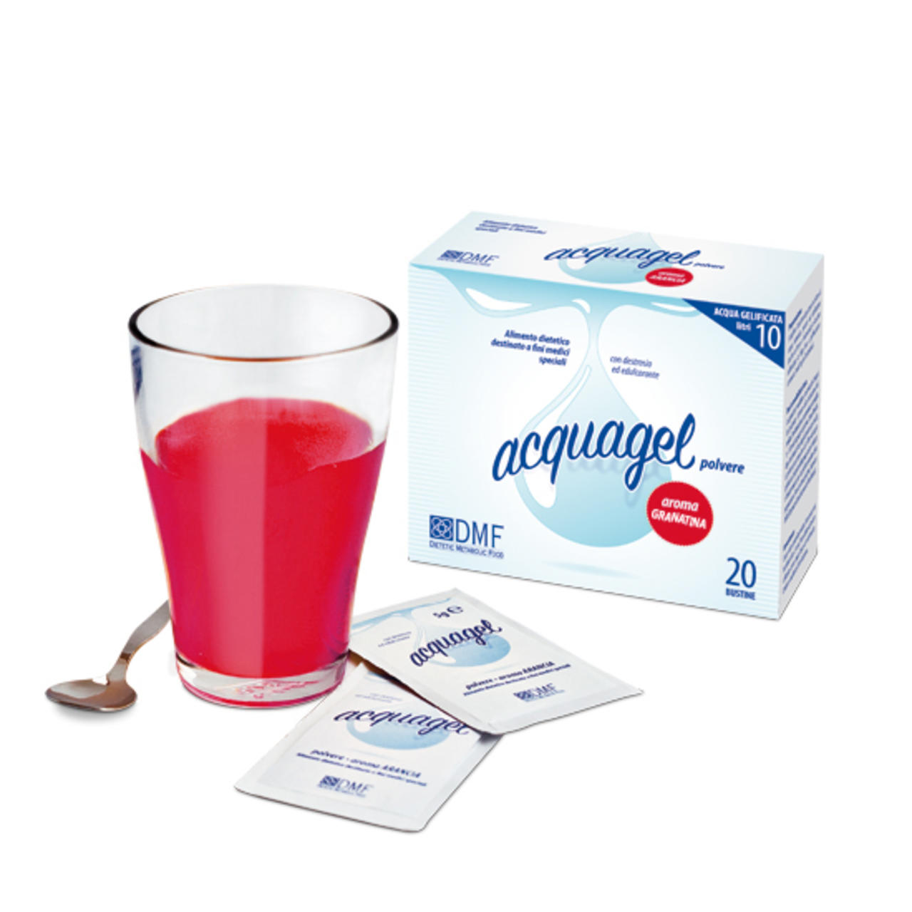 Acquagel Granatina 20bs X 5g