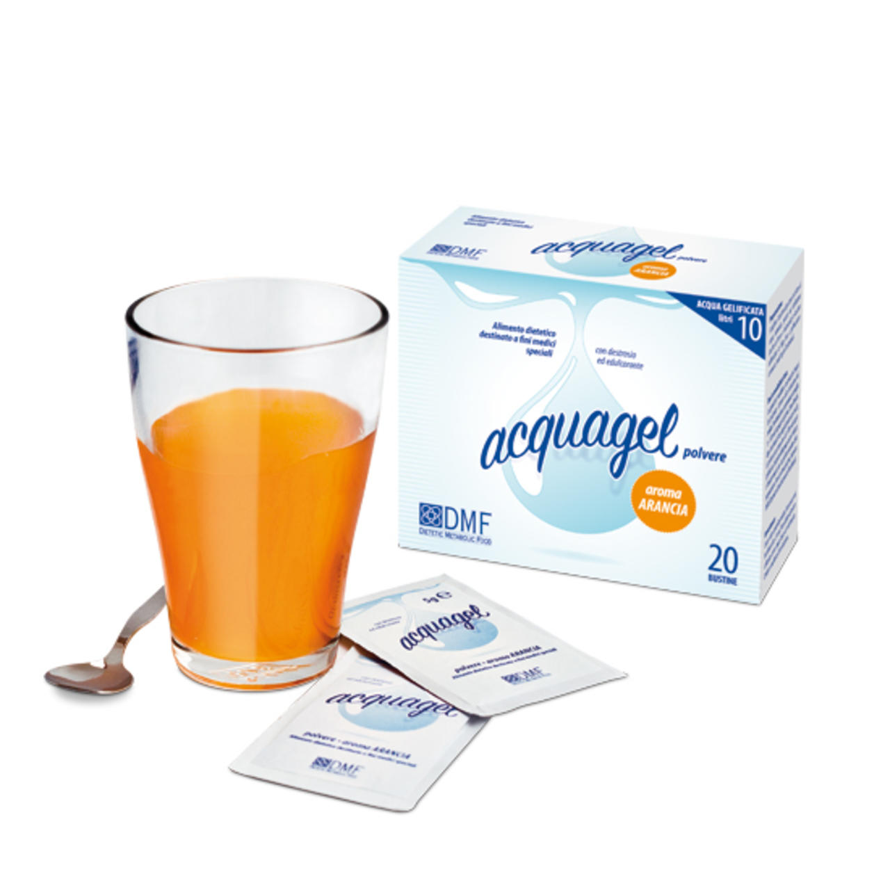 Acquagel Arancia 20bs X 5g