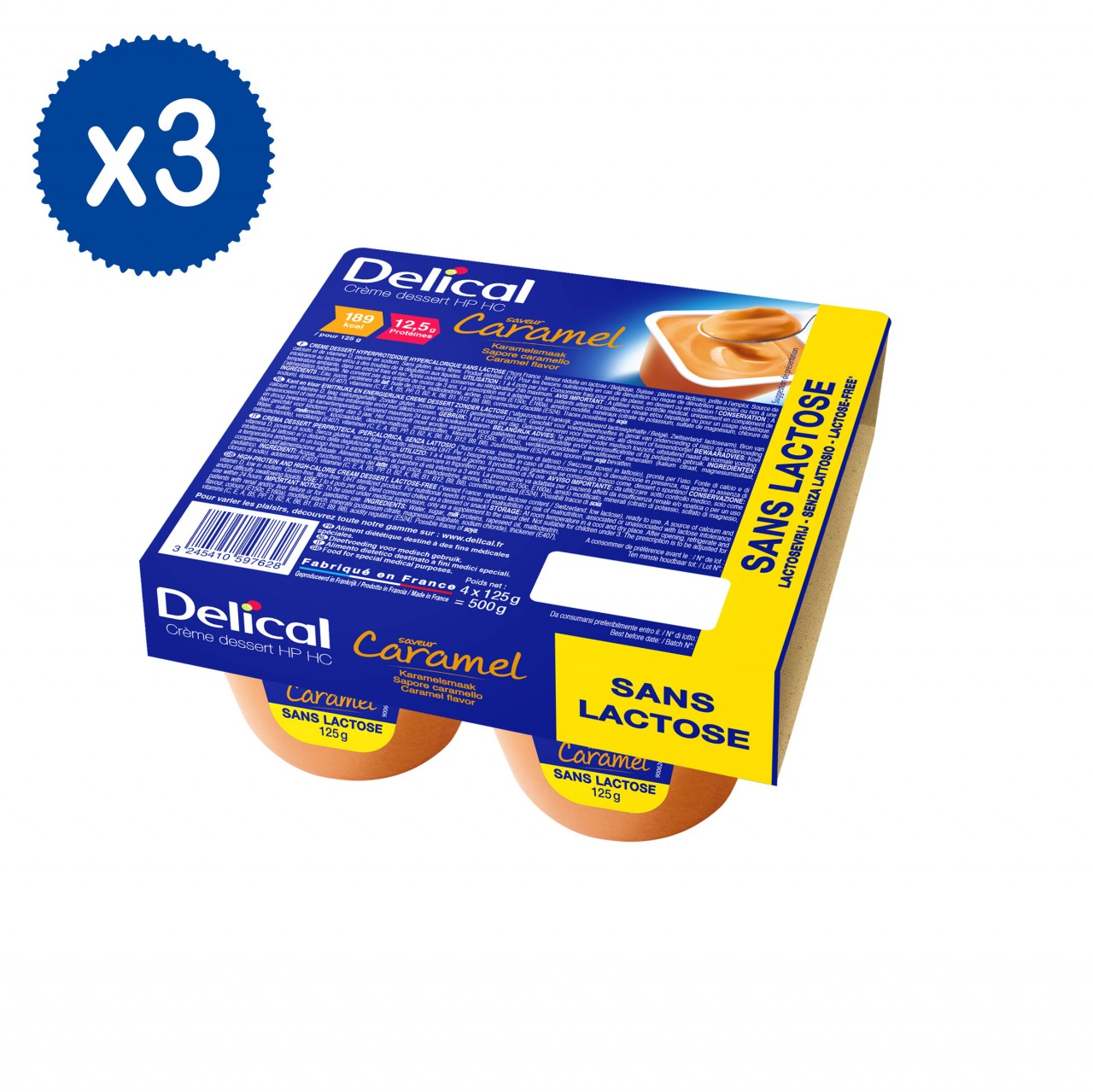 Delical Caramello 12 x 125g