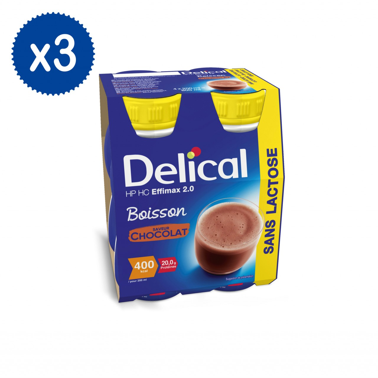 Effimax 2.0 Cioccolato 12 x 200ml