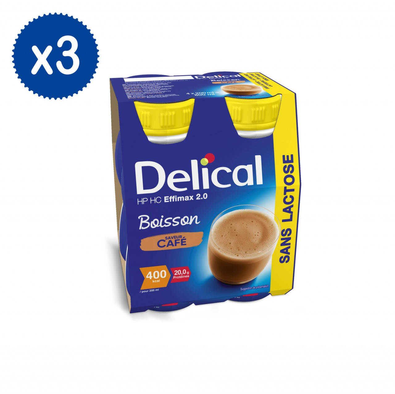 Effimax 2.0 Caffé 12 x 200ml