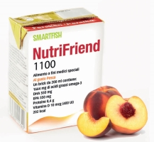 NutriFriend 1100 Pesca 200ml X 18 brick